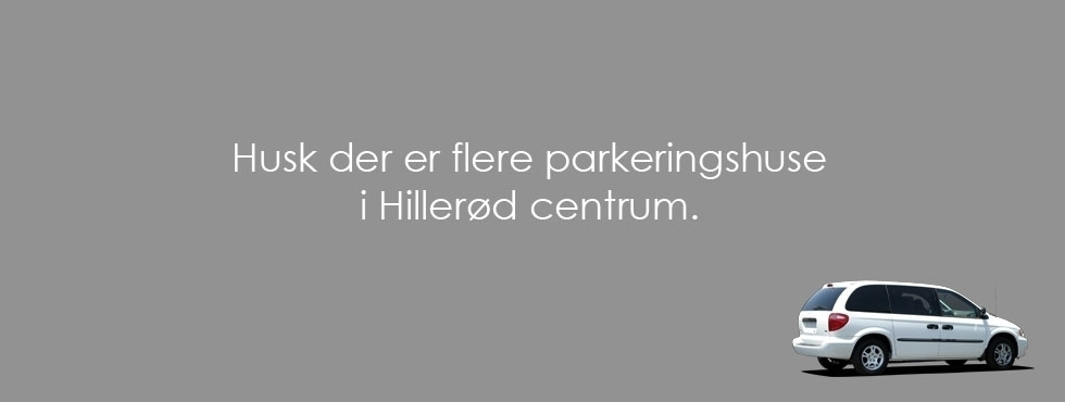 Find your way to Hillerød center