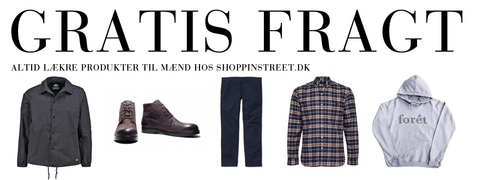 Herre modetøj tilbud- ShoppinStreet.dk - Hillerød shopping