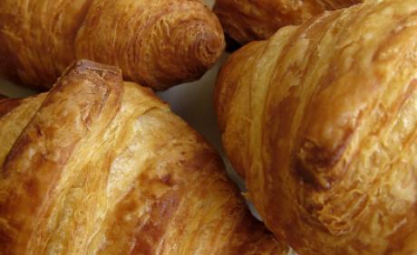 croissanter i halskæde